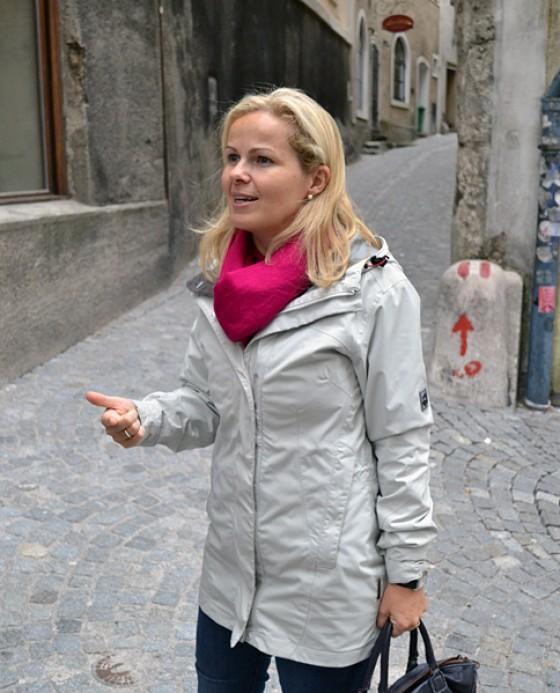 Fremdenführerin Kornelia Thöni Salzburg