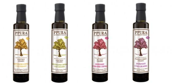 Bio-Olivenölen von PPURA