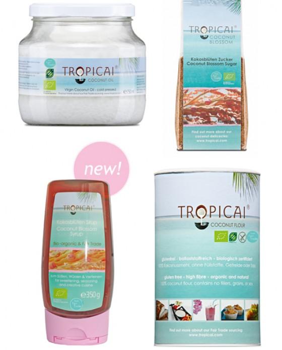 Kokos-Produkte von Tropicai