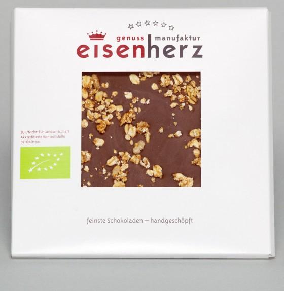 Vollmilchschokolade mit Lebkuchen–Crunchy von eisenherz