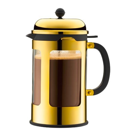 Kaffeebereiter Gold von bodum