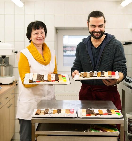 """Weimar: Kuchen vom Blech,  """"Kuchenpakete"""" von Susanne Krupinski"""