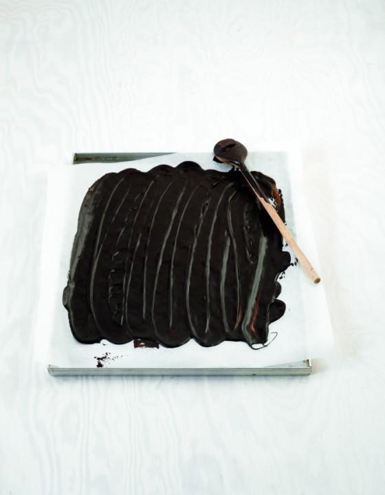Schokoladenplatten herstellen