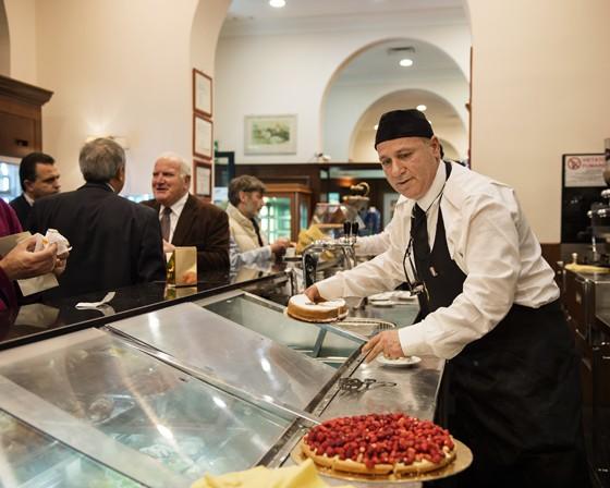 Palermo: Crostata im Spinnato