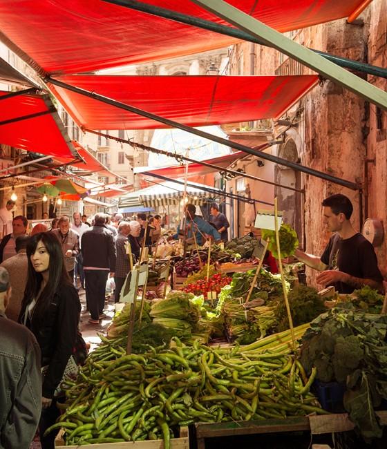 Palermo: Wochenmarkt