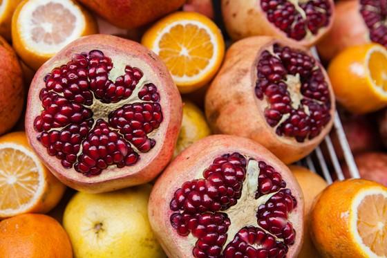 Istanbul Granatäpfel, Orangen