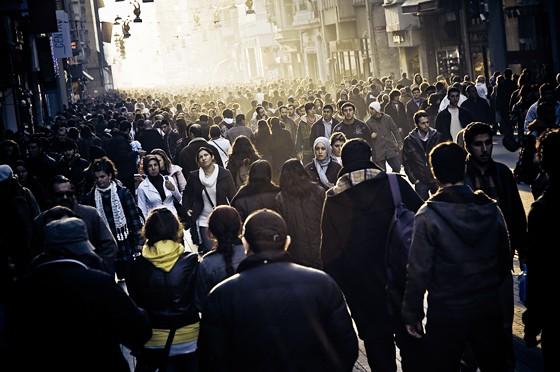 Istanbuls Haupteinkaufsstraße Istiklal Caddessi