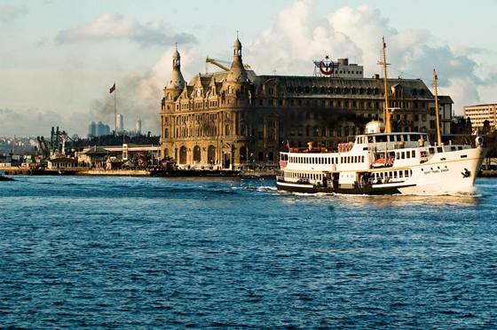 Istanbul Bahnhof Haydarpasa