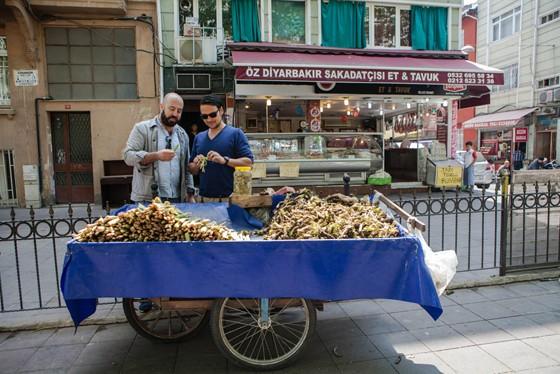 Istanbul Straßenhandel