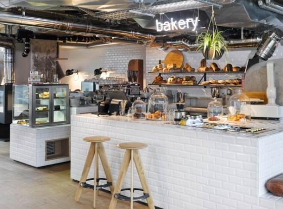 Hauseigene Bäckerei