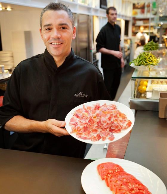 Madrid Restaurant Albora Schinken