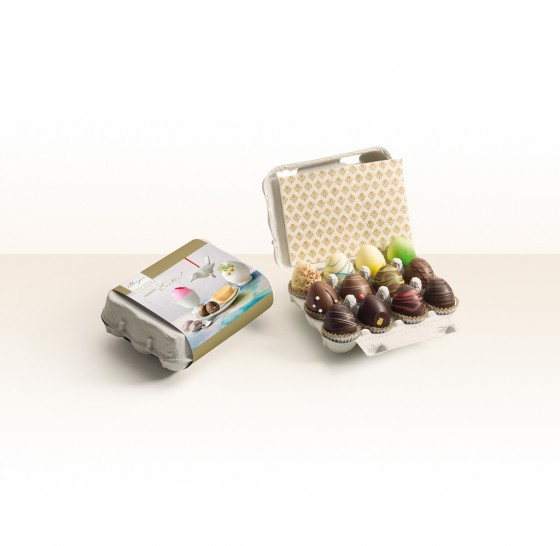 Trüffel-Eier-Kartonbox