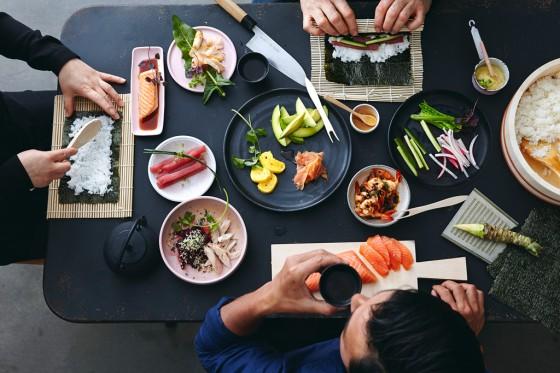 Sushi-Party et 3 2014
