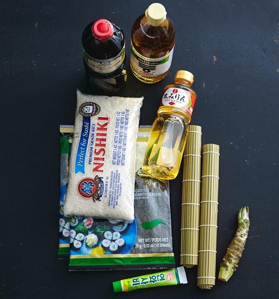 Sushi-Party et 3 2014 Zutaten