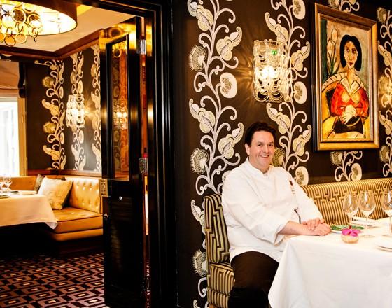 London Restaurant Seven Park Place William Drabble