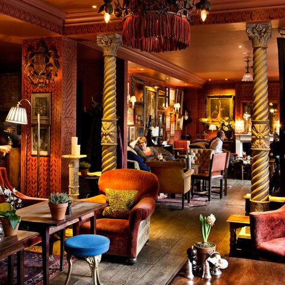 London Cocktail-Lounge im Zetter Townhouse
