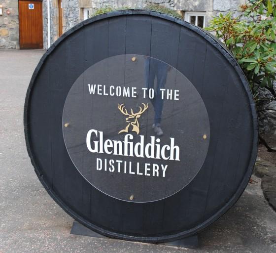 Glenfiddich_Eingang
