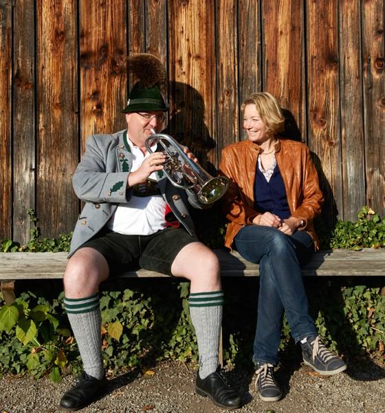 Chiemgau Anne Haupt und Simon Zosseder