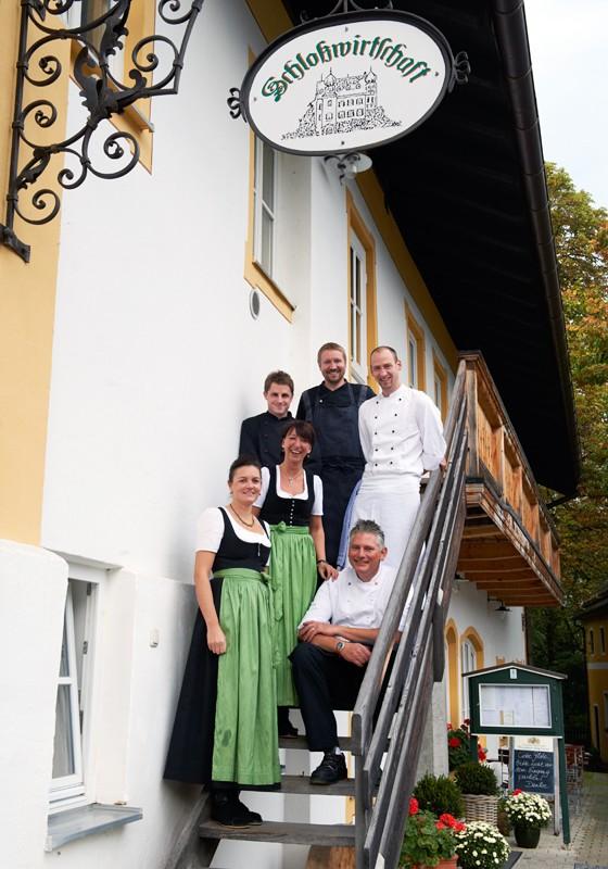 Chiemgau Wildenwart Schlosswirtschaft Team