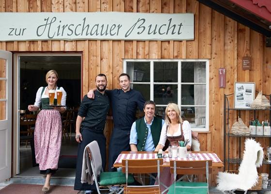 Chiemgau Wirtshaus zur Hirschauer Bucht