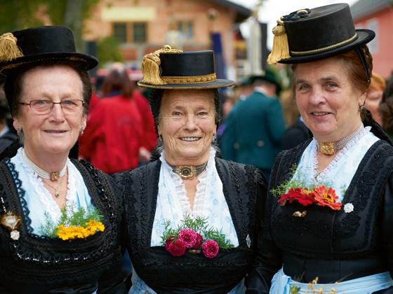 Chiemgau Chiemgauer Festtagstracht