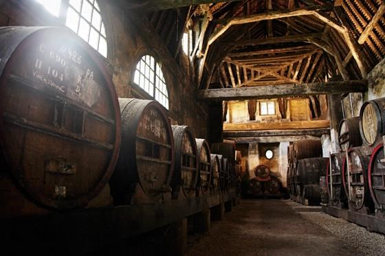 Calvados-Fässer-des-Château-du-Breuil-Normandie