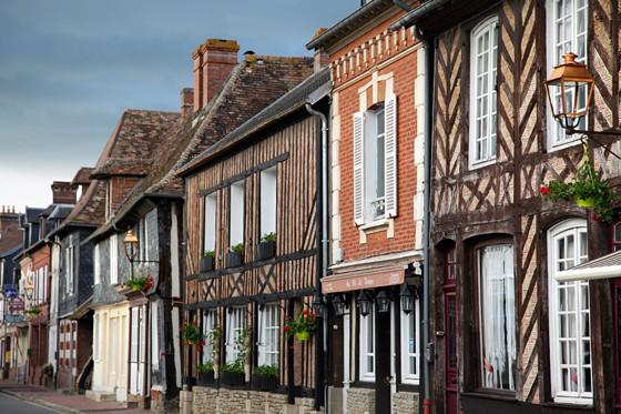 Dorf-Beuvron-en-Auge-Normandie