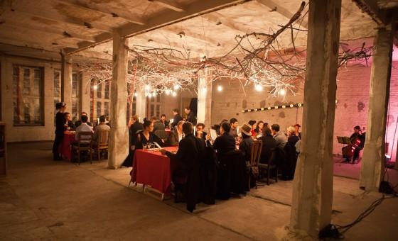 Ungewöhnliches Gala-Dinner: The Golden Dinner