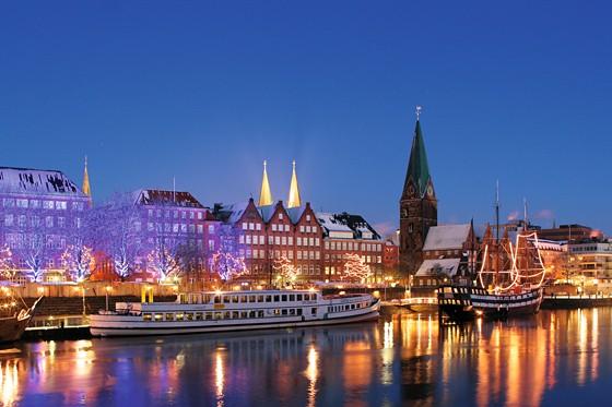 Weihnachtsmarkt Schlachte-Zauber Bremen