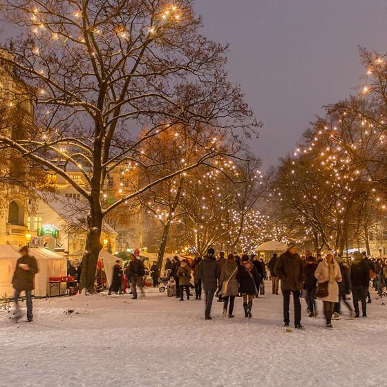 Weihnachtsmarkt Richardplatz Berlin