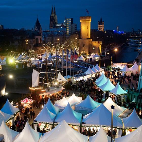Hafen-Weihnachtsmarkt Köln