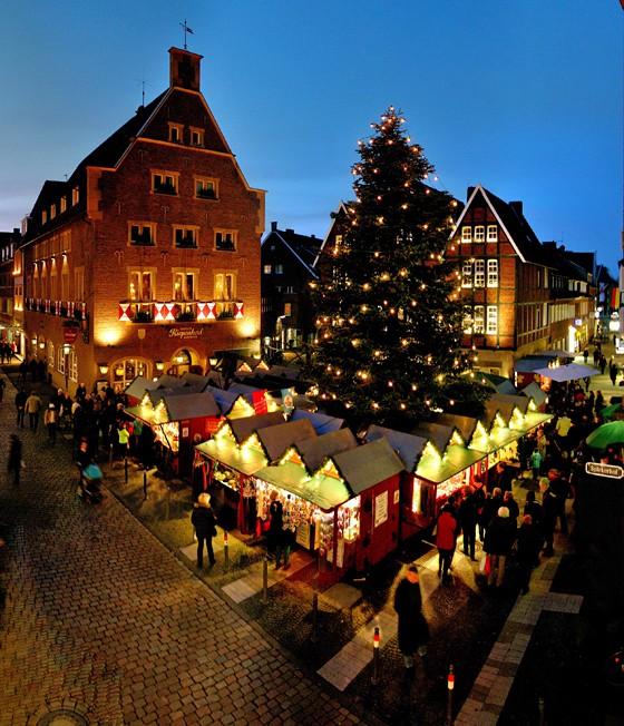 Weihnachtsmarkt Münster Kiepenkerl