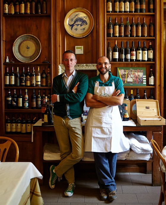 Paolo-Gori-und-Michele-Wolken-Trattoria-da-Burdi-Florenz-kulinarische-Reise