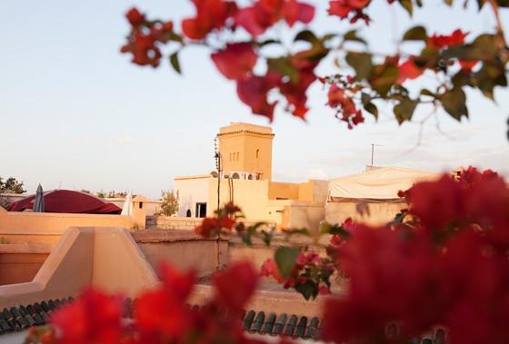 Marrakesch Hotel Riyad El Cadi Dachterrasse