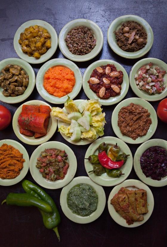 Marrakesch Restaurant Al Fassia Vorspeisen