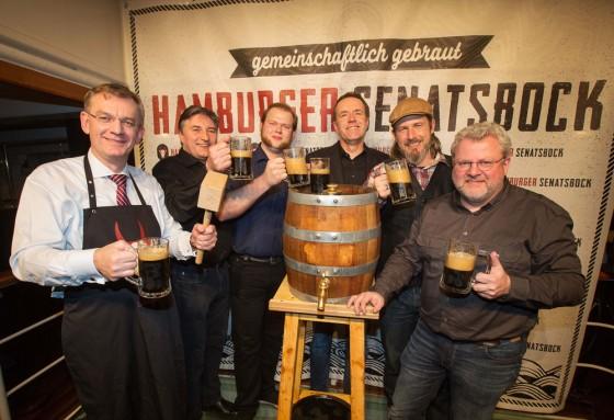 Der Hamburger Senatsbock und seine Braumeister