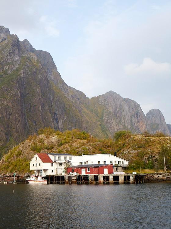 Norwegen-Lofoten-Schiffanleger-in-Bodo-kulinarische-Reise