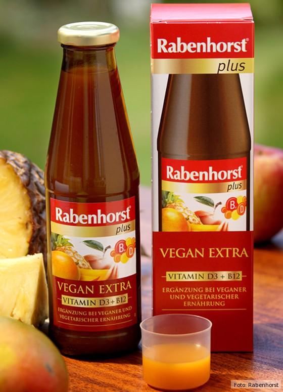 Rabenhorst Saft Plus Vegan Extra