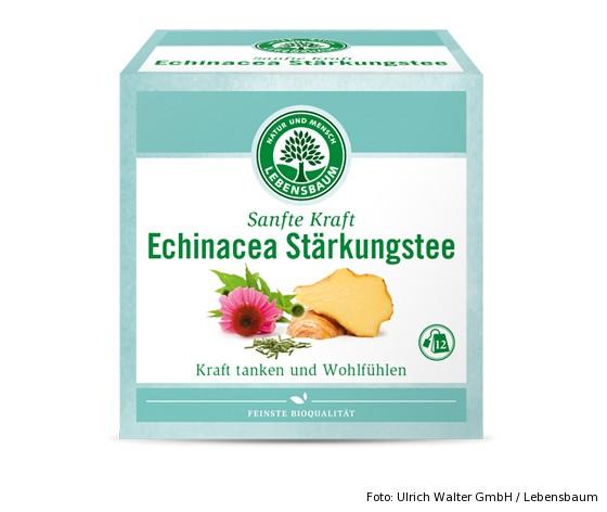 Sanfte Kraft Echinacea Stärkungstee von Lebensbaum