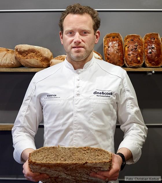 Brügge, Meisterbäcker Sebastien Cailliau