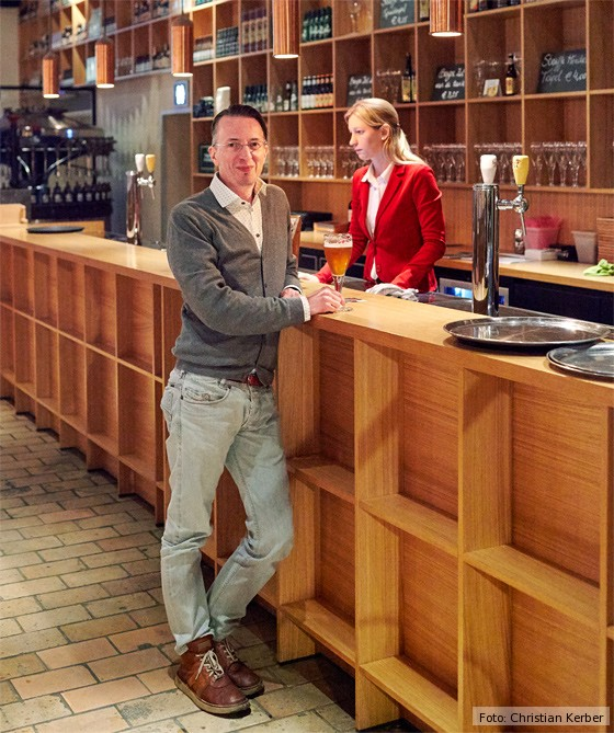 Brügge, Brauerei De Halve Maan, Michele-Wolken