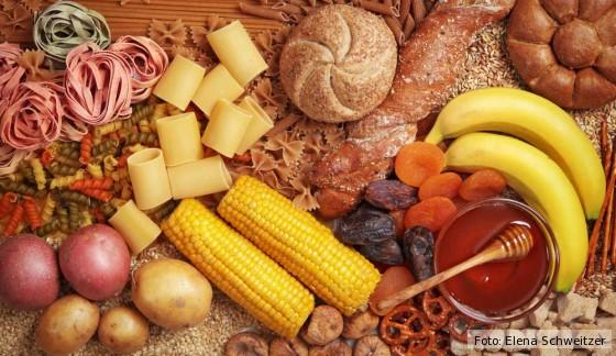 Kohlenhydrate, Früchte, Zucker, Honig, Kartoffeln, Stärke, Getreide, Ernährung