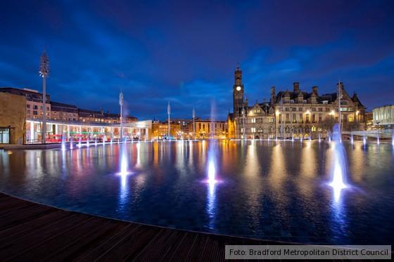 Bradford Curry-Hauptstadt Großbritanniens