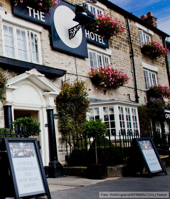 The Black Swan Hotel in Helmsley North York
