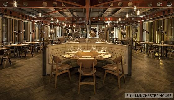 Manchester House Restaurant Nordengland
