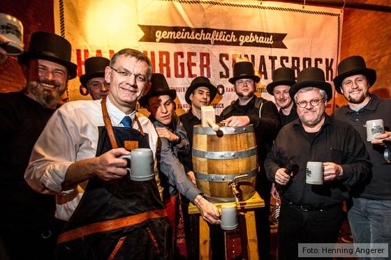 Anstich Hamburger Senatsbock 2016