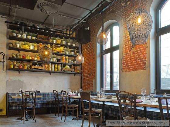 Restaurant NENI im 25hours Hotel Altes Hafenamt