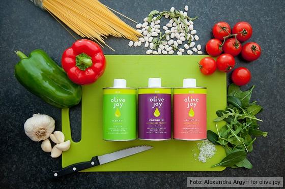 Drei sortenreine Olivenöle aus Griechenland von olive joy