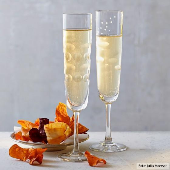 Pet Nat, perlender Naturwein, Gläser
