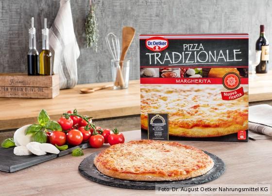 Pizza Tradizionale Margherita von Dr. Oetker
